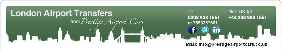 London Airport Taxi Rates and Online Booking System - Heathrow, Gatwick, Stansted, Luton and City Airports and are available 24/7